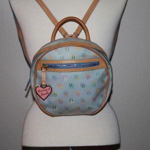 Dooney & Bourke Coated Canvas Backpack